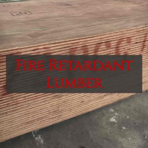 fire retardant lumber, fire retardant plywood, commercial blocking, danback, non comb wood, noncom wood