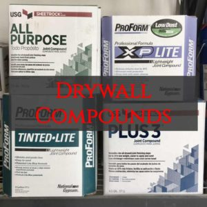 drywall mud, drywall compound, all purpose, pro-form lite, lite blue, plus 3 mud